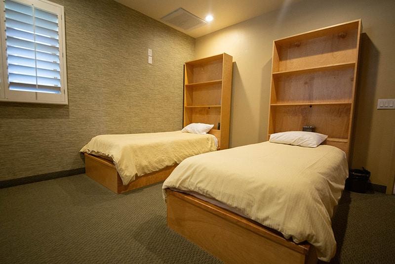 Claudia Black Center bedroom