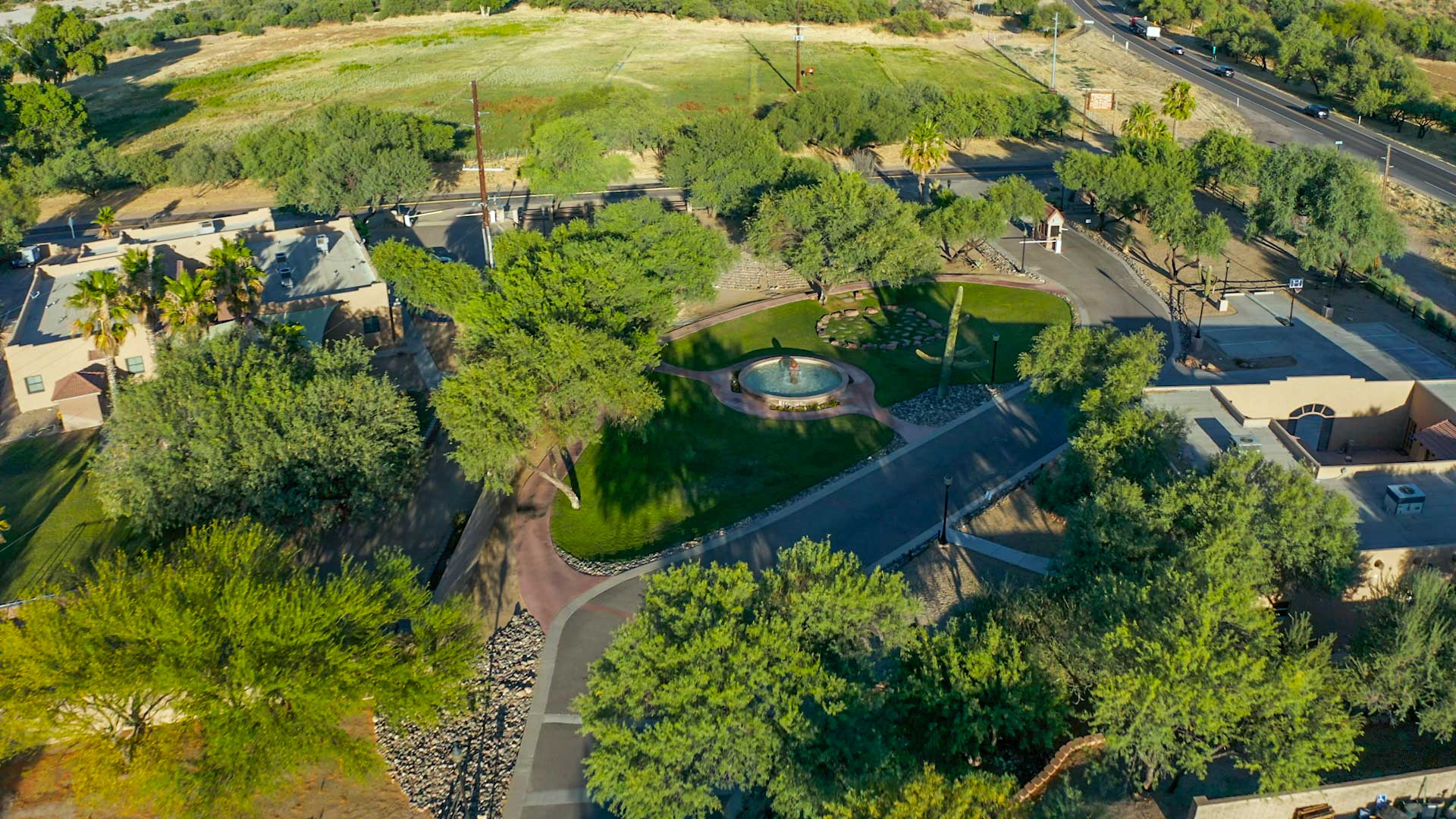 Claudia Black Young Adult Center aerial view