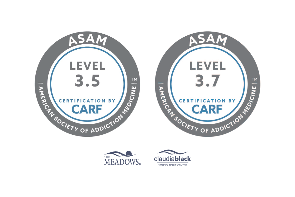 ASAM Accreditation for The Meadows and Claudia Black Young Adult Center